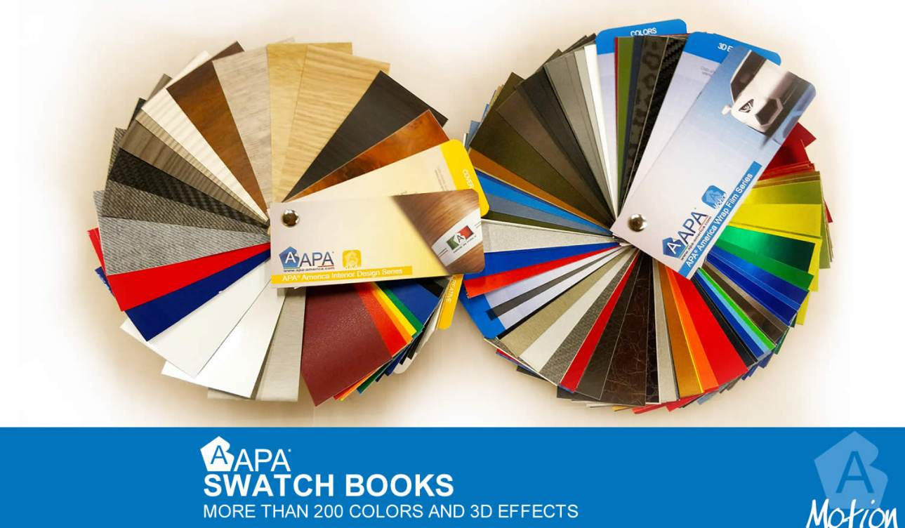 New APA swatch book – 23 new colors