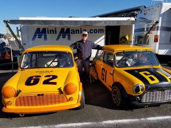 Mini Mania & Don Racine Target Assault on Can-Am Mini Challenge Vintage Races