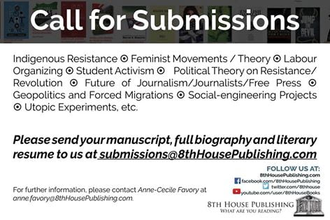 8th House Publishing – Call for Submissions