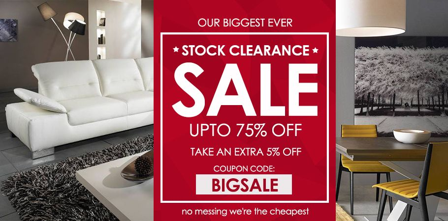 Stock Clearance Sale – Up to 10% Off at Furniture Direct UK - ePRNews