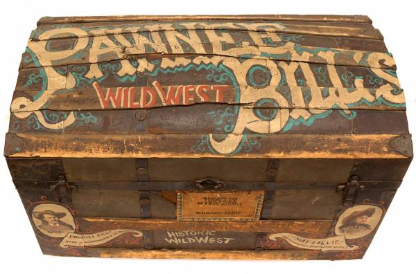 Western Americana, to include Pawnee Bill items, will be part of Holabird's Aug. 6th auction in Reno