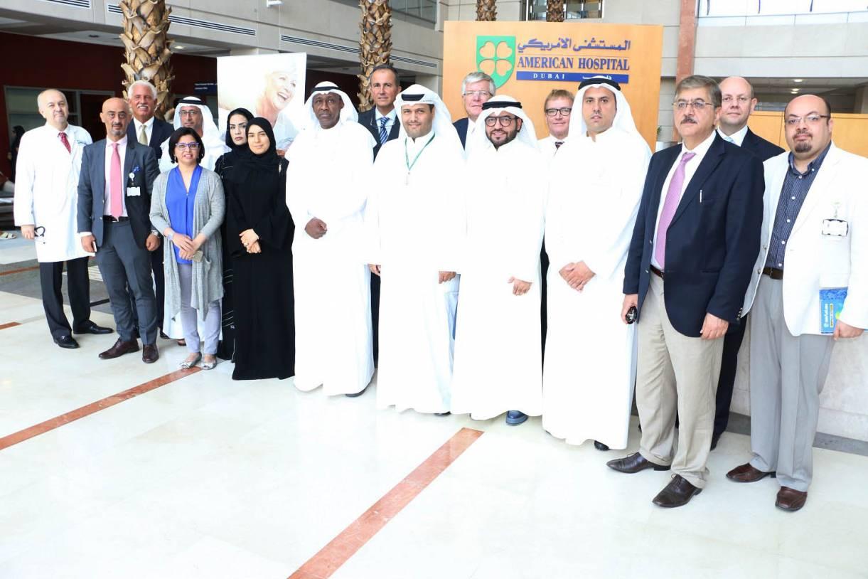 High-ranking Kuwait Officials visit American Hospital Dubai