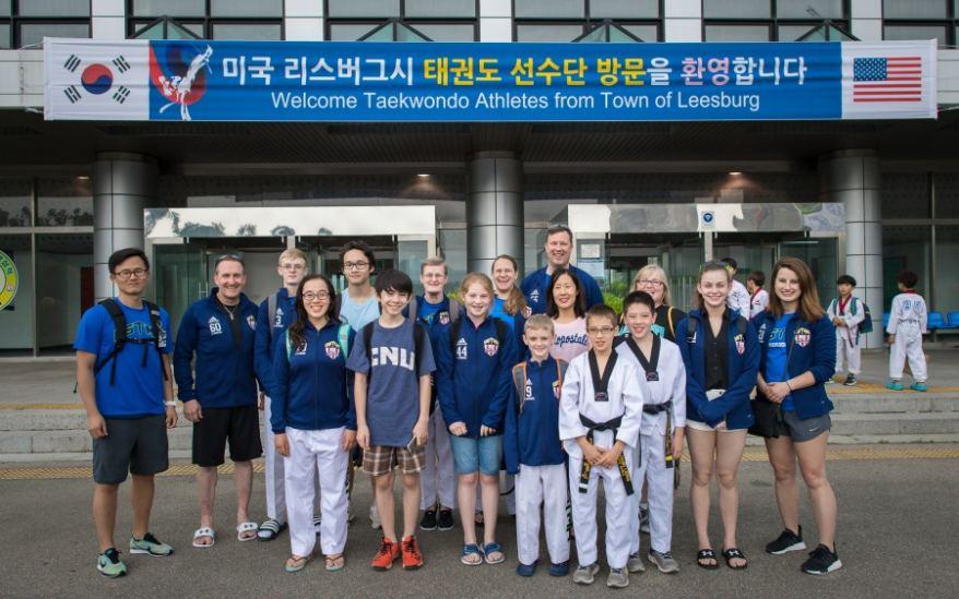 USTMA Taekwondo Competes in South Korean Championship Taekwondo Tournament