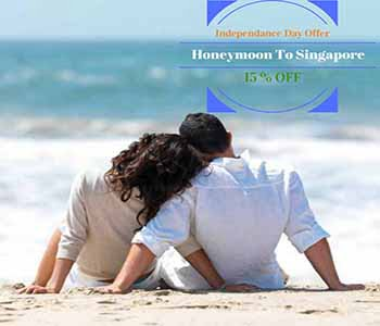 Indian Independence Day Offer By Visit Singapore – Flat 15% Off on Honeymoon Packages