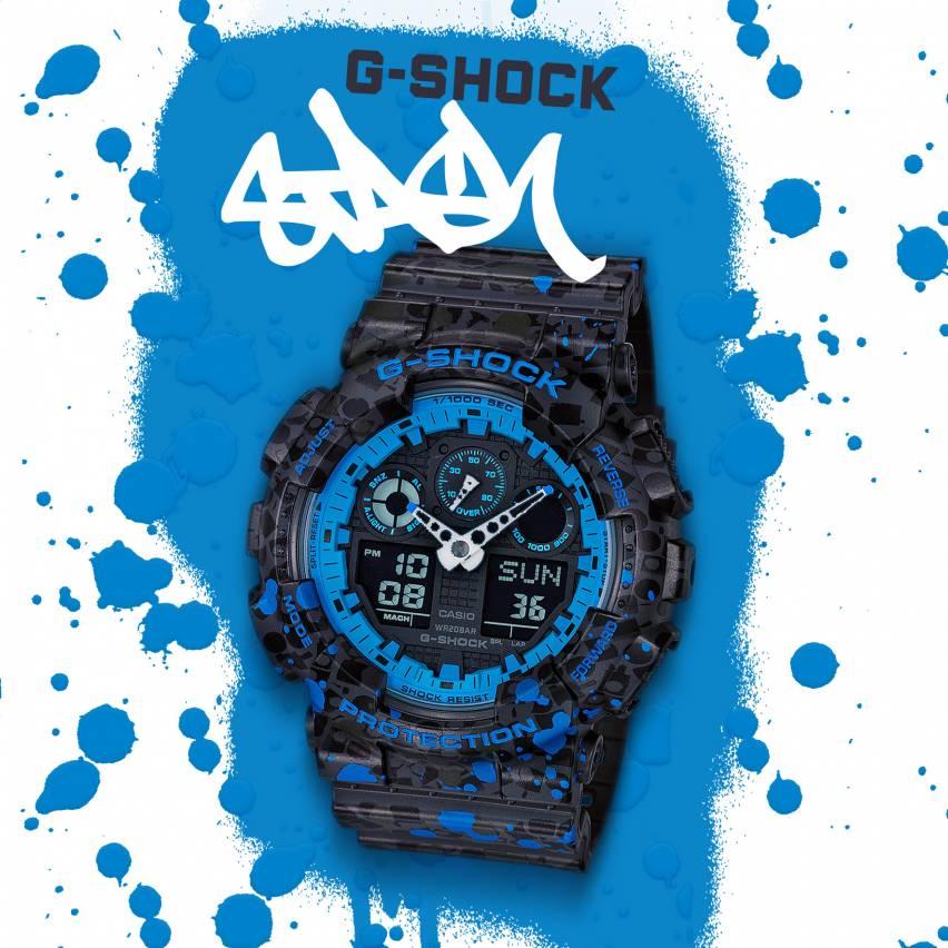 Casio Partners with Legendary Graffiti Artist STASH