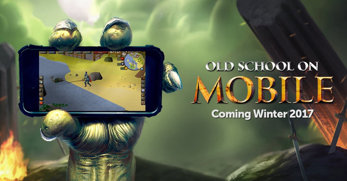 PlayerAuctions News: OSRS Mobile Coming Late 2017