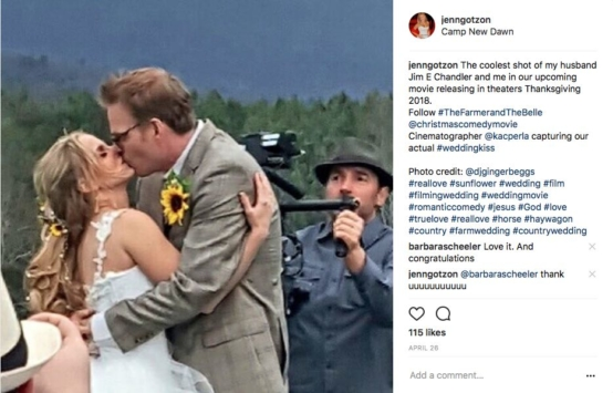 """Two Actors Film Actual Wedding in Their New Movie """"The Farmer and ..."""