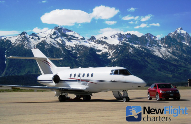 Flight Charters Reports Record Number of Private Jets for Eclipse in Jackson Hole