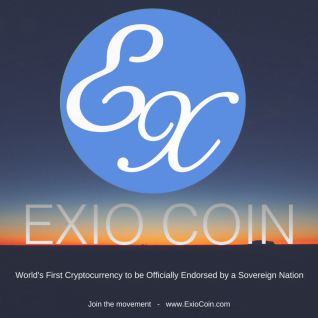Exio Coin the First Sovereign Nation Endorsed Cryptocurrency ICO