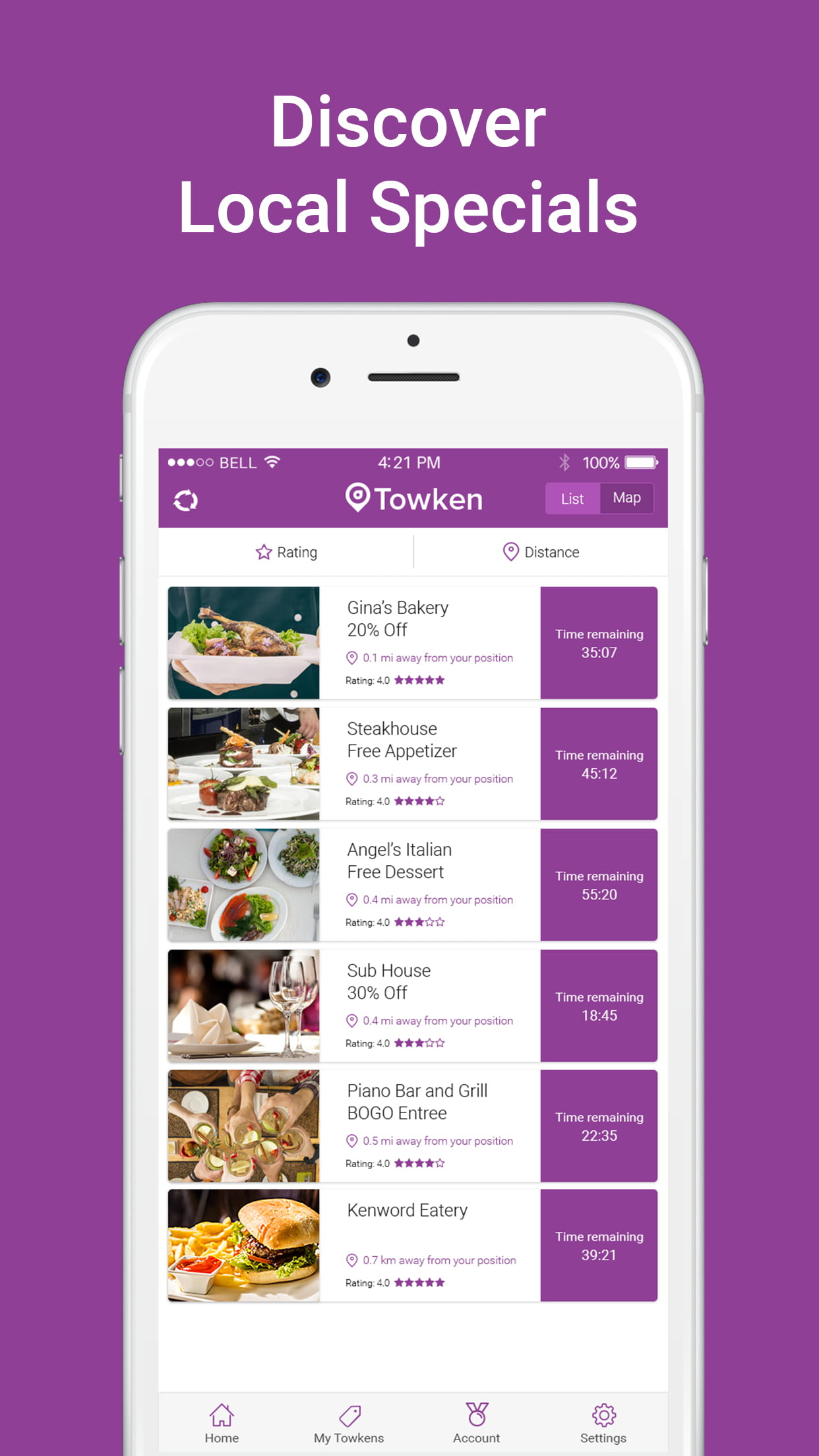 New App to Draw Customers to Discover Nearby Restaurant Specials