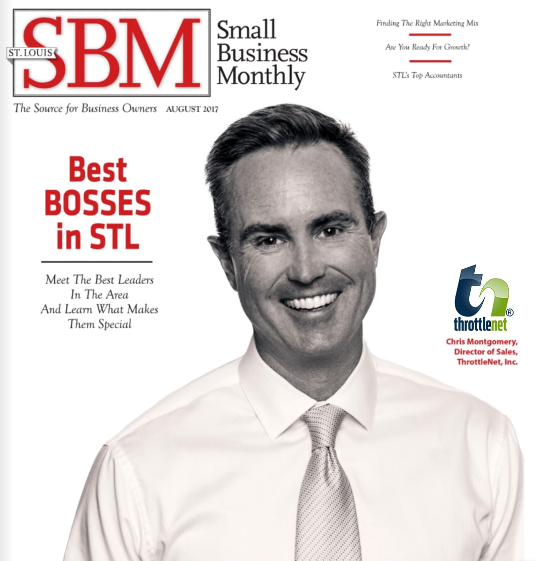 ThrottleNet's Christopher Montgomery Named One of the Best Bosses in St. Louis by Small Business Monthly