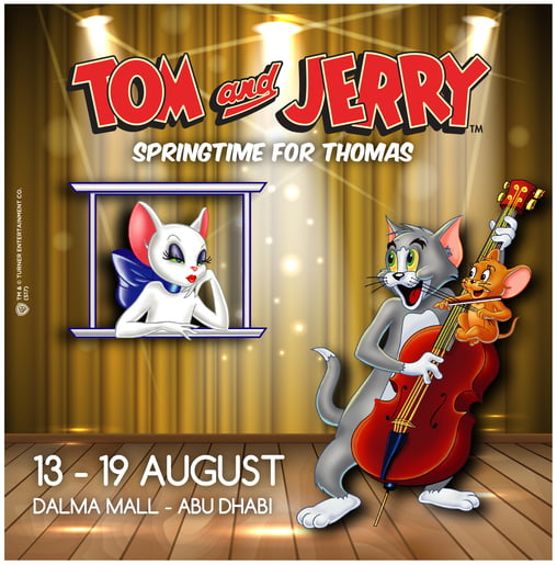 Tom & Jerry live on stage in Dalma MAll