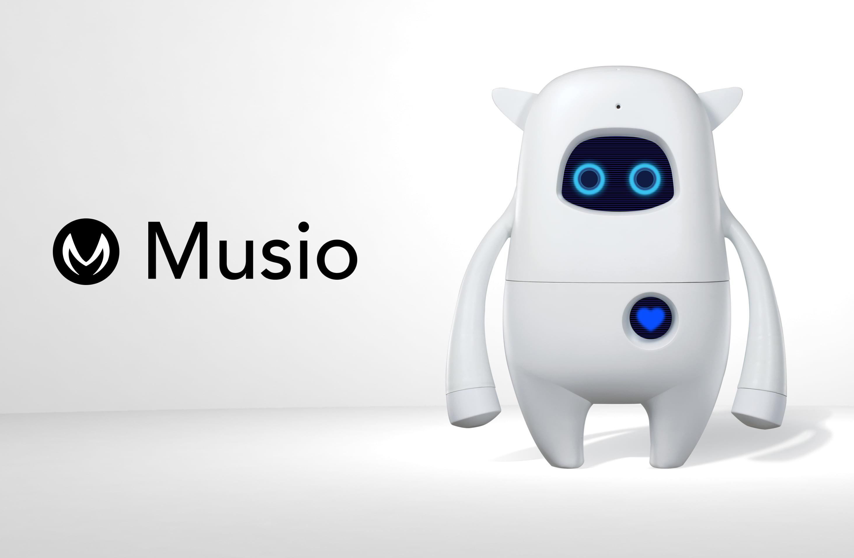 Latest AI Social Robot 'Musio' Reaches Berlin