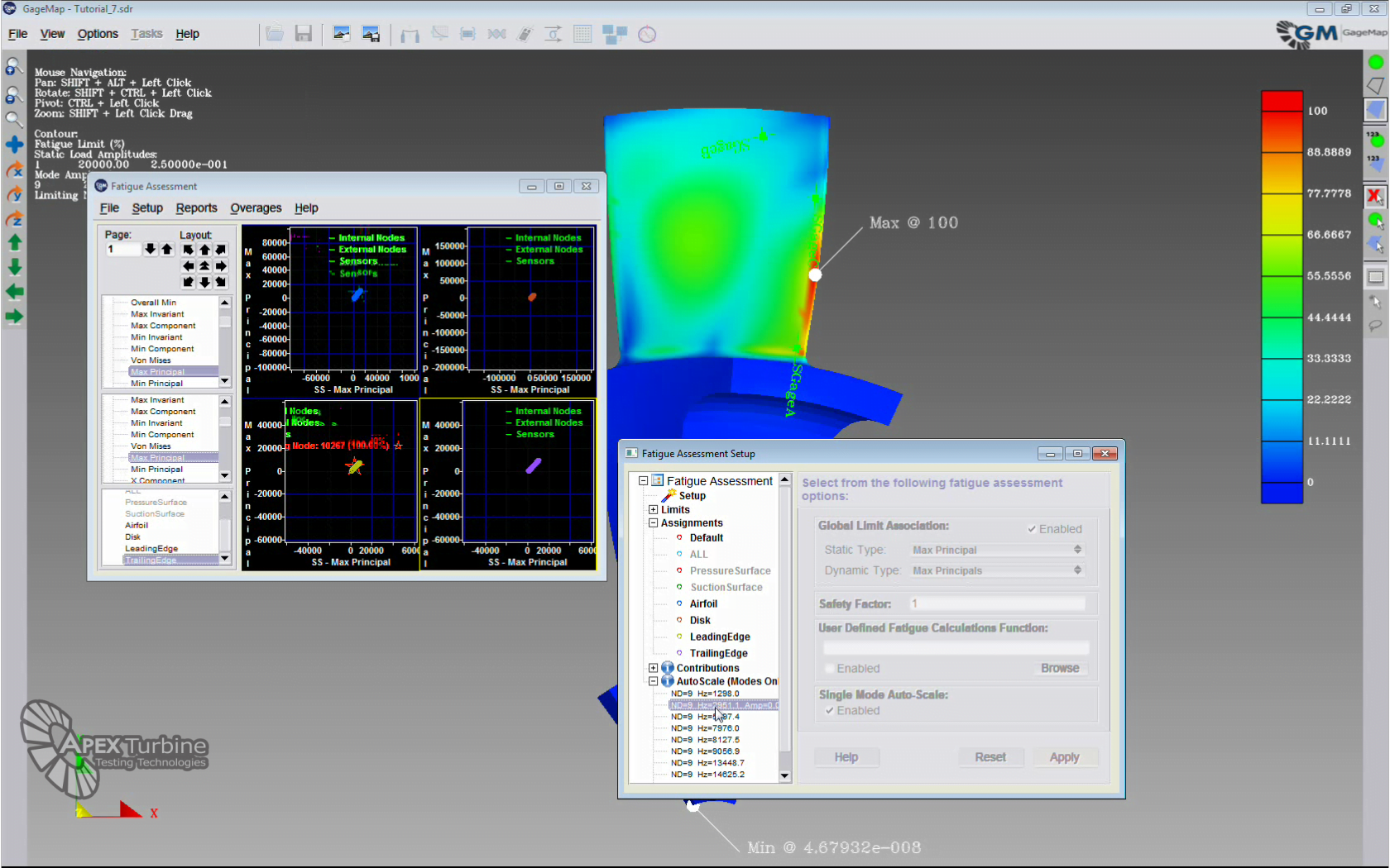 APEX Releases GageMap Version 2017.3 – Mesh-Free FEA Post Analysis Software