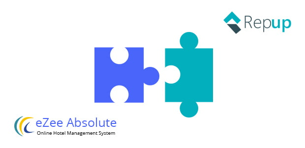eZee Absolute hotel PMS integrates with Repup's reputation management engine