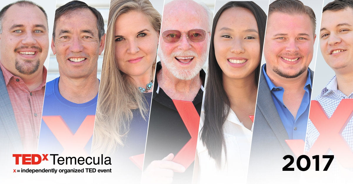 TEDxTemecula Announces Speaker Lineup for Sixth Annual Conference