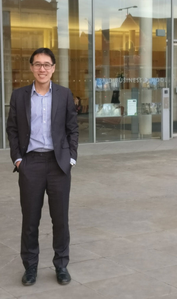 CFTE Co-Founder Huy Nguyen Trieu Takes on the Future of Finance at Oxford