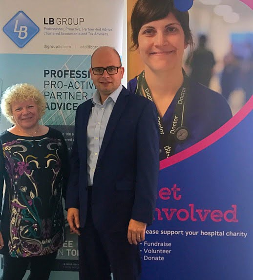 LB Group Accountants announce charity partnership with Ipswich Hospital