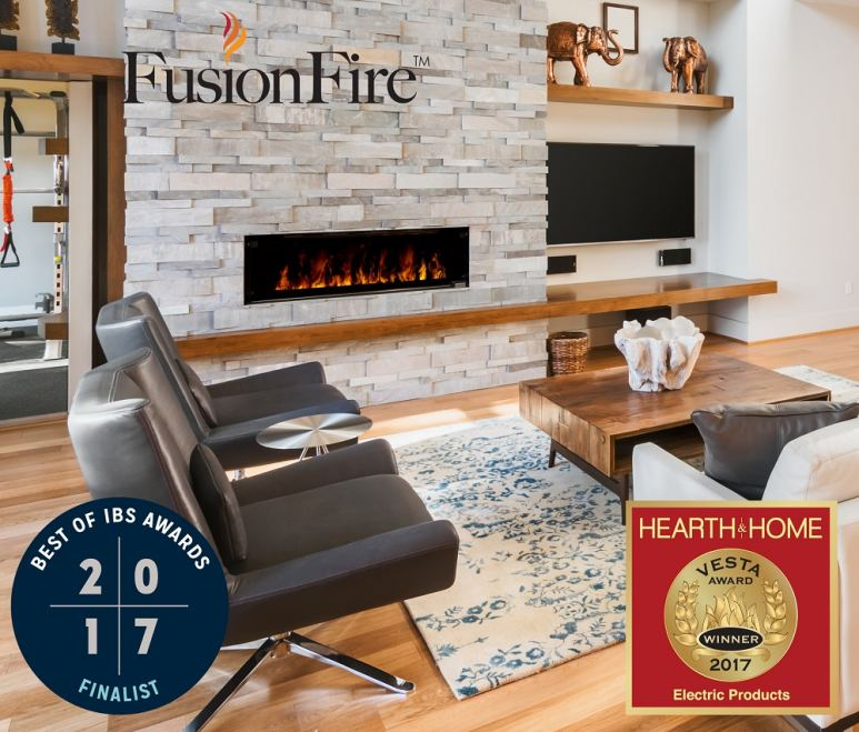 Arizona Fireplaces Introduces the FusionFire Steam Fireplace by Modern Flames