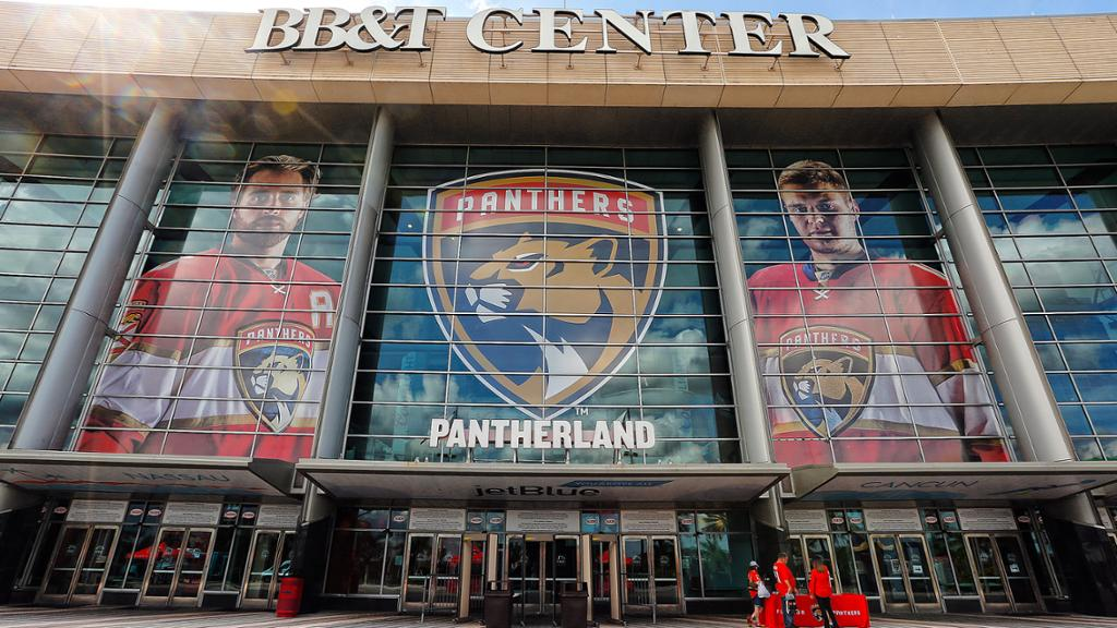 Florida Panthers Unite for Florida on Oct. 7 at BB&T Center