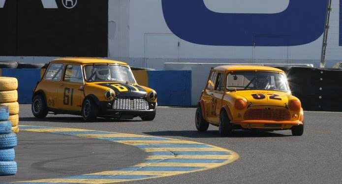 Driving Assignments Complete for Seven-Car Mini Mania Team at Can-Am Mini Challenge