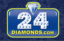 Shop for Men's Gold Chains and Diamond Watches at 24Diamonds.com