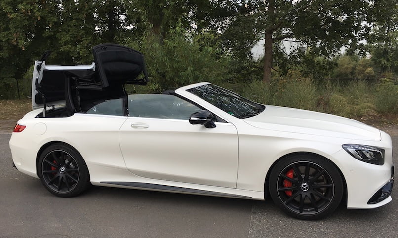 SmartTOP Additional Soft Top Control Now Available for the New Mercedes-Benz S-Class