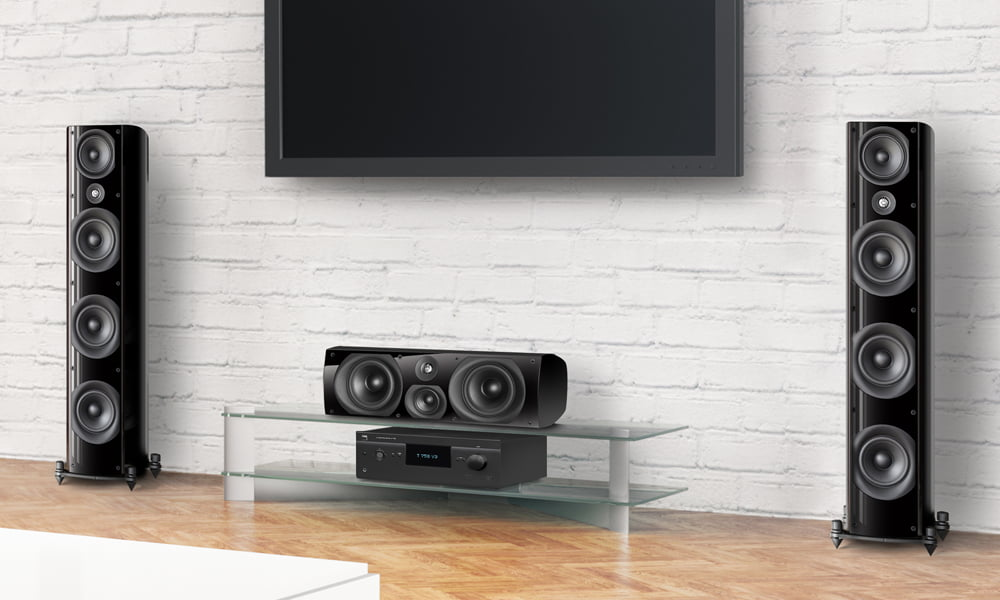 First of NAD's Third Generation Surround Sound Receivers, the  T 758 V3, is Now Shipping