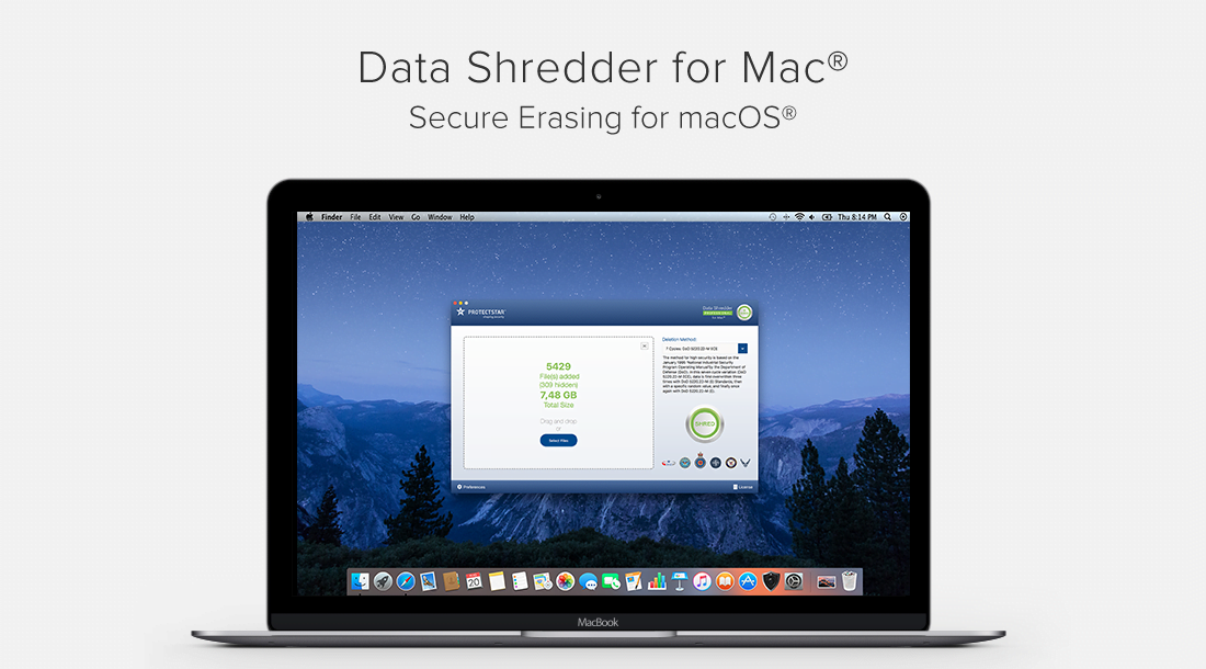 Data Shredder for Mac 2017 Offers Military Grade Data Deletion for macOS