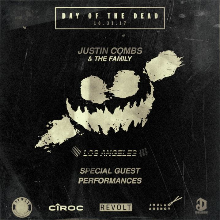 Justin Combs announces his annual Halloween Party