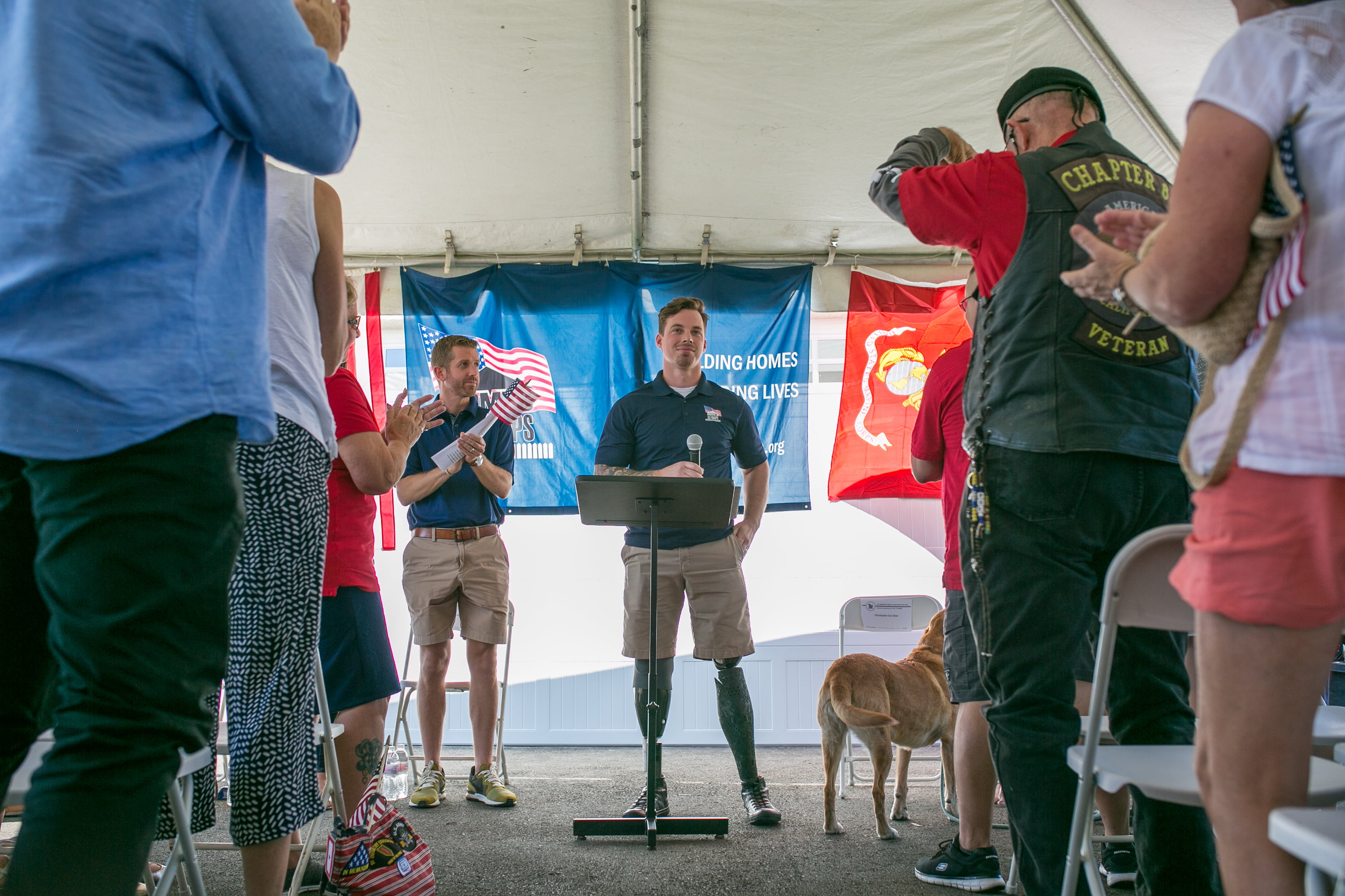 Homes for Our Troops and Horizon Solar Power Present New Solar Powered Home to Wounded Veteran