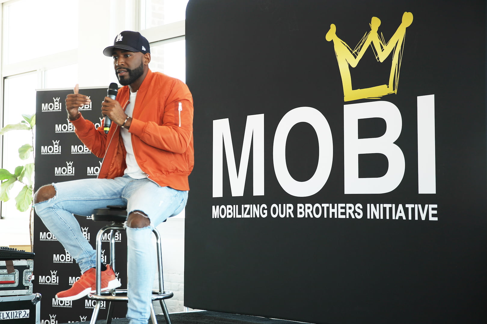 Mobilizing Our Brothers Initiative (MOBI) Brings MOBItalks to the Bronx to Empower Black Gay Men