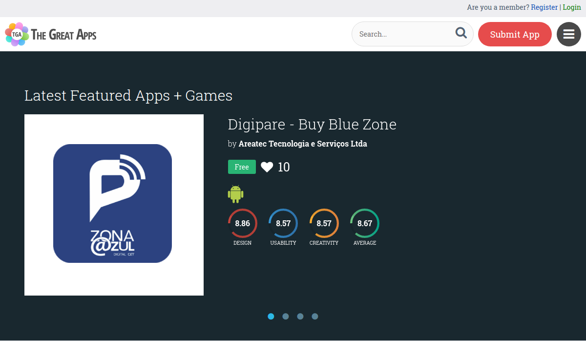"""Digipare Is Featured As One Of The Best Apps On The Website """"The Great Apps"""""""