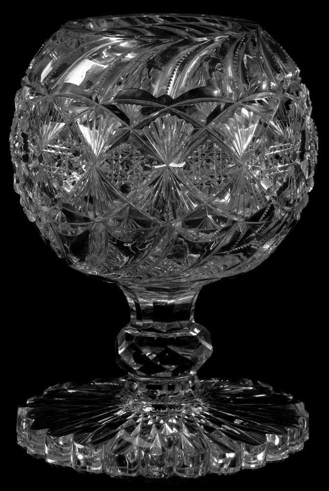 Two major collections of American Brilliant Cut Glass will co-headline Woody Auction's Nov. 18 sale in Kansas City