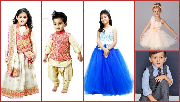 6f8d95eeaab2 PinkBlueIndia Kids Diwali festival Readymade Dresses and clothing ...