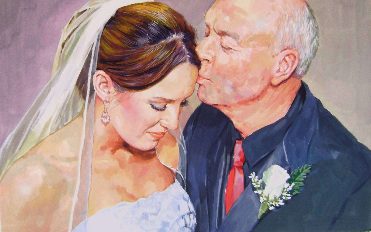 Get Pictures Converted to Painting with Free Shipping from Amazing Custom Art