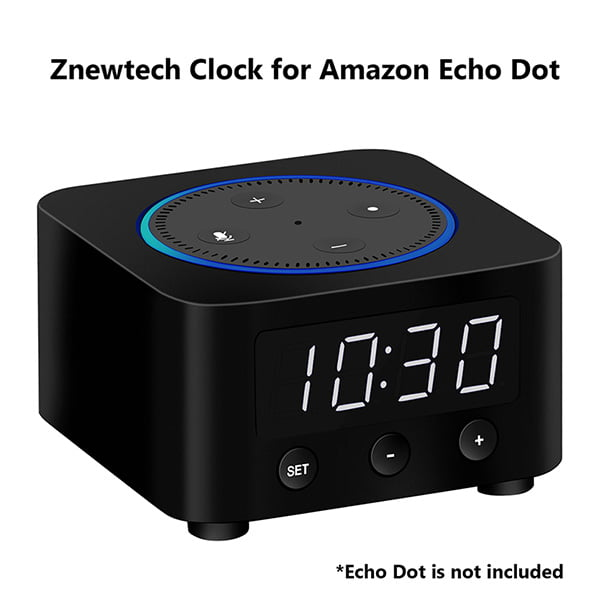 Znewtech Clock – A New Cool Gadget for Amazon Echo Dot Owners