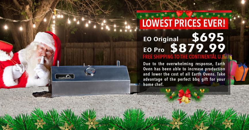 Earth Oven proudly reduces prices to the lowest ever for both EarthOven and EarthOven PRO!
