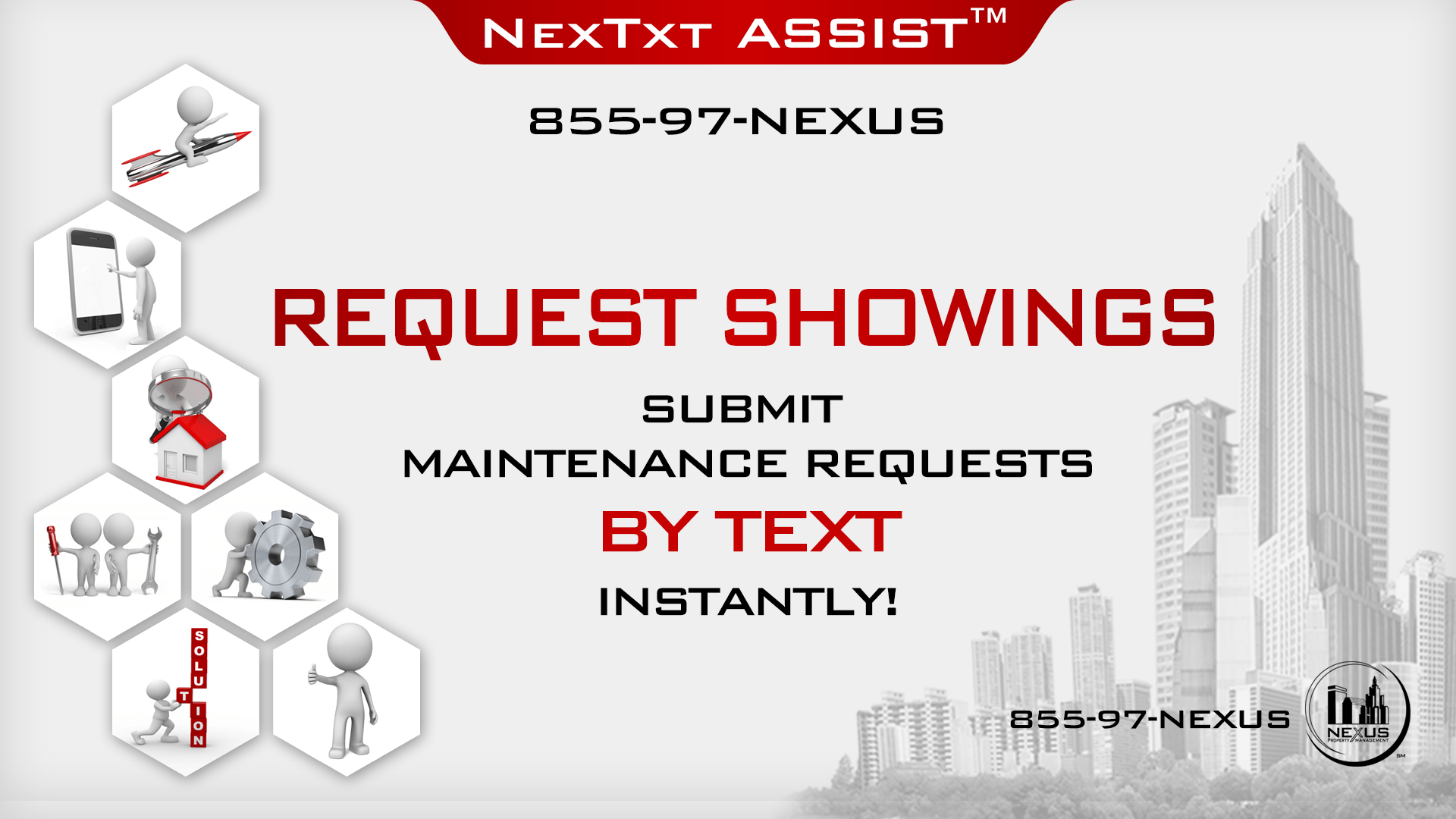Nexus Property Management™ Unveils Nexus TxtAssist™ Instant Response Text Service