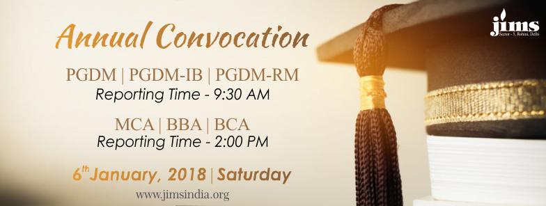JIMS Rohini- Annual Convocation Day