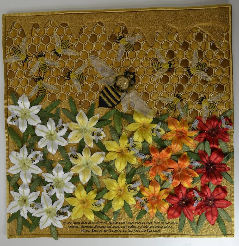 The Australian Winner of the 17th Annual Brother International Quilting Contest has been announced!