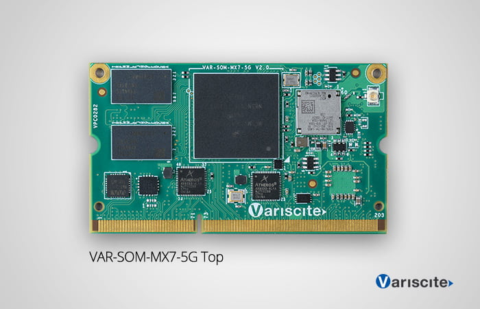 VAR-SOM-MX7 is now available with Certified 802.11ac/a/b/g/n and Bluetooth 4.2 support