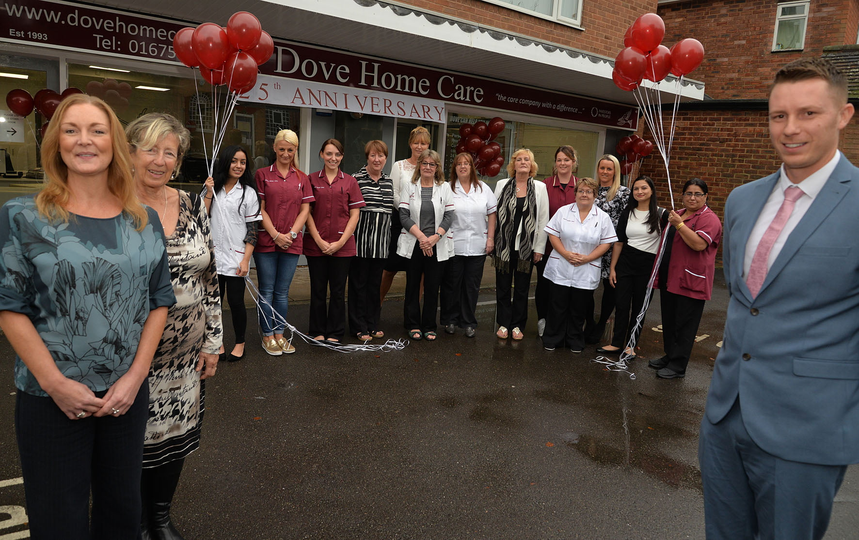 Dove Home Care Agency celebrated its 25th anniversary