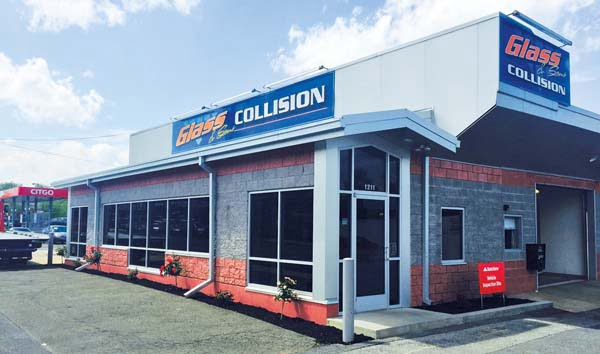 Autobody News: PA's Glass & Sons Collision Finds Similar Values, High Service Level With BASF Paint Line