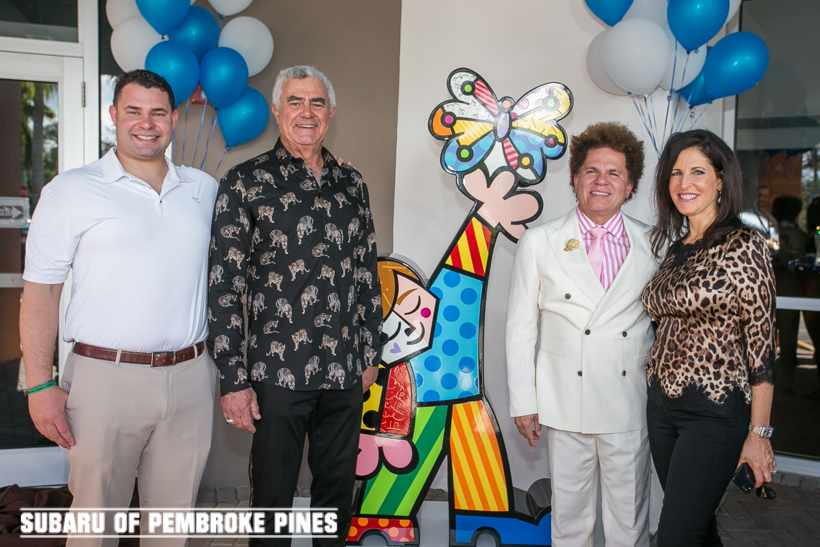 Craig and Martine Zinn, and Subaru of Pembroke Pines Chooses JAFCO as Beneficiary Charity for the Share the Love Event