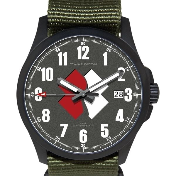 Team Rubicon wrist watches assembled in the the USA!