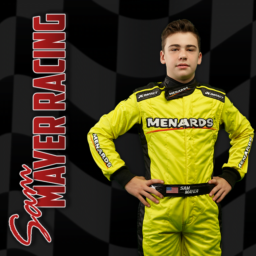 Driver Sam Mayer Has Signed to Race for JR Motorsports