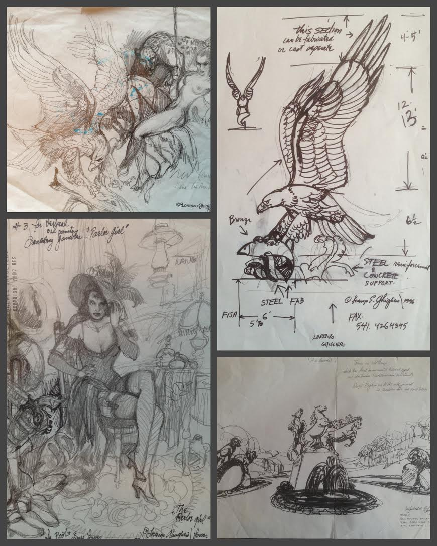 Priceless Cache of Over 70,000 Lorenzo Ghiglieri Drawings Coming to Market in 2018 by Mark Russo, CEO of Treasure Investments
