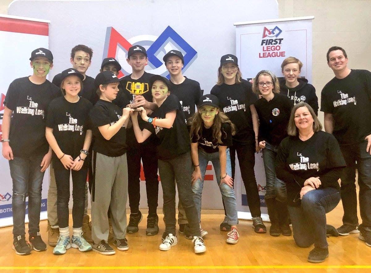 """Travel Bans Aren't Canadian Insists Toronto's Glen Ames Senior Public School's """"Walking Lead"""" Robotics Club"""