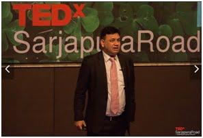Indian Academic Evangelist Dr Dheeraj Mehrotra Shines at TEDx